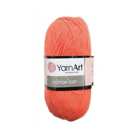 Пряжа Yarn art 'Cotton soft' (55% хлопок, 45% акрил)