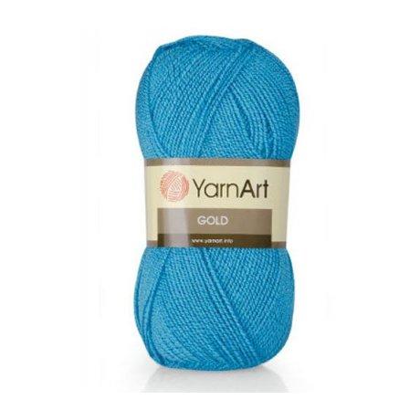 Пряжа Yarn art 'Gold' (92% акрил, 8% метанит)